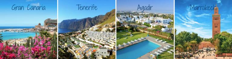 Reis til Kanariøyene og Marokko med SOLFAKTOR