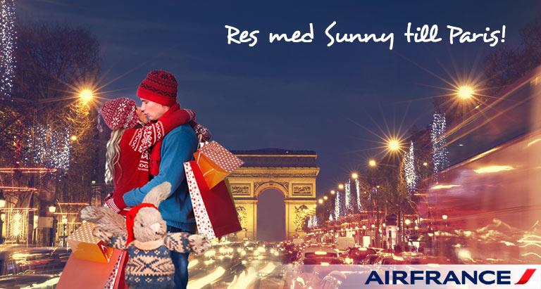 Med Air France och Sunny till Paris - sistaminuten.se