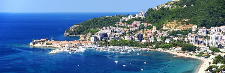 Billige pakkerejser til Montenegro