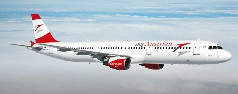 Austrian Airlines tilbud