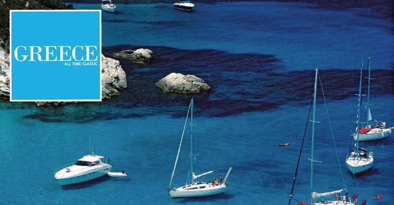 Grekiska turistkontoret - seglats bland grekiska öar