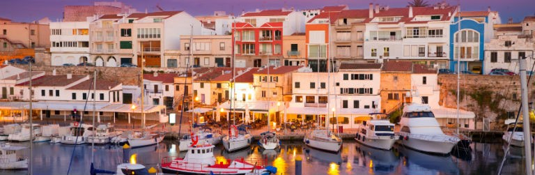 Billigaste resorna till Ciutadella, Menorca från hela Sverige