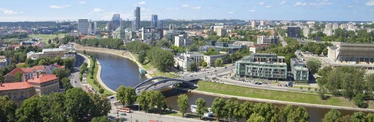 Billiga paketresor till Vilnius