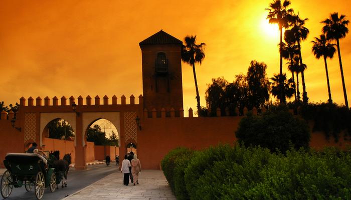 Shopping och upplevelser i exotiska Marrakech