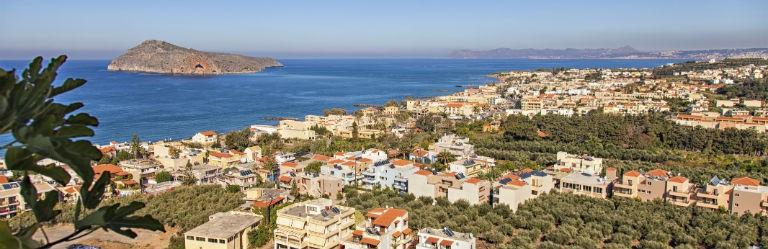 Billigaste resorna till Kreta från hela Sverige