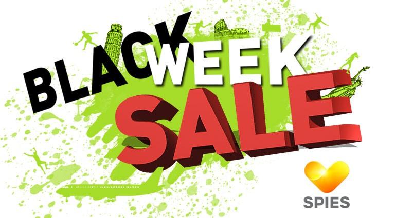 Black week sale - Spies