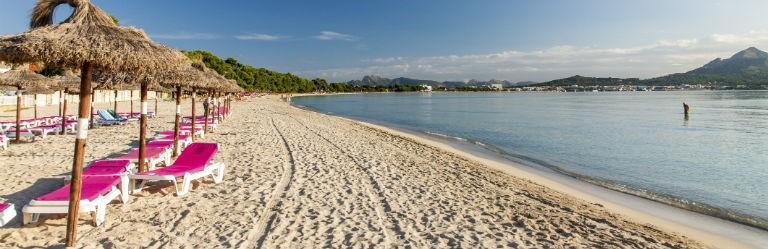 Billigaste resorna till Alcudia, Mallorca från hela Sverige