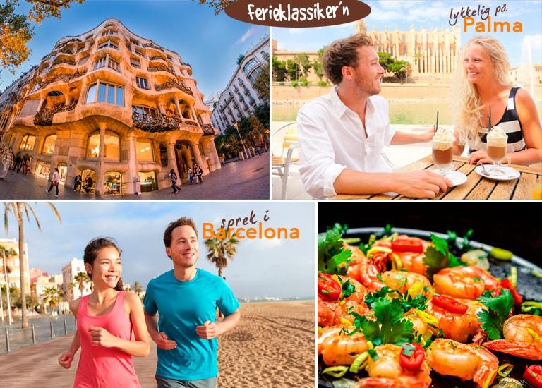 Spania, storby og strand i høstferien