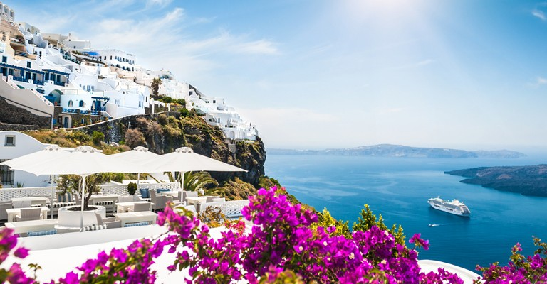 Santorini – verdens vakreste øy