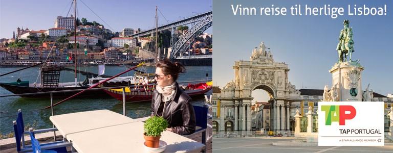 Vinn reise for 2 til Lisboa