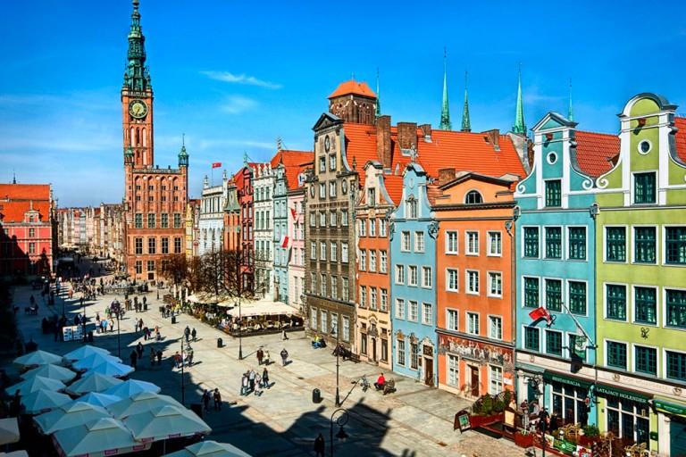 Gdańsk populært og rimelig - fly direkte fra 11 byer!
