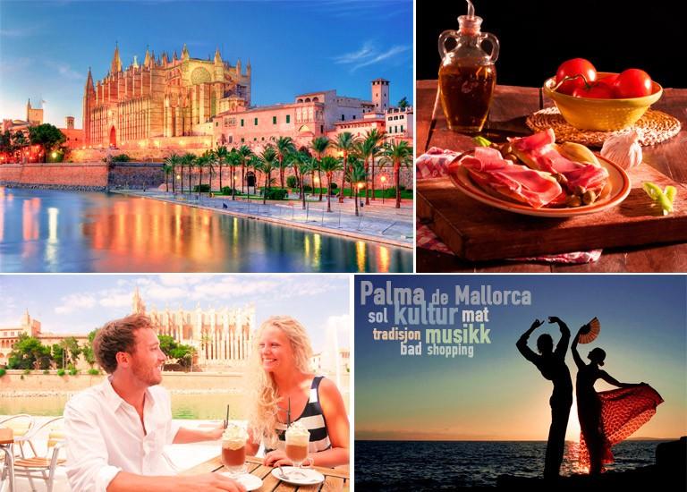 På tur til Palma de Mallorca