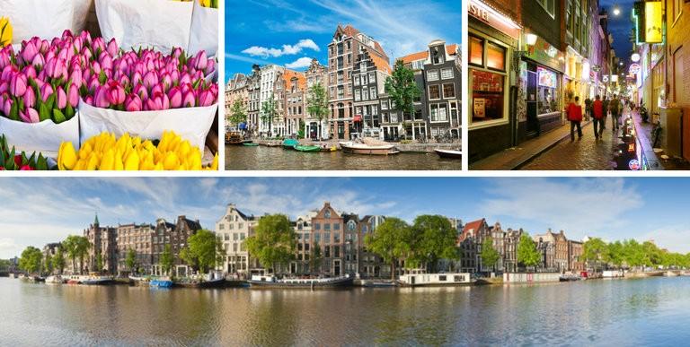 Storbytur til Amsterdam hele året - fly direkte
