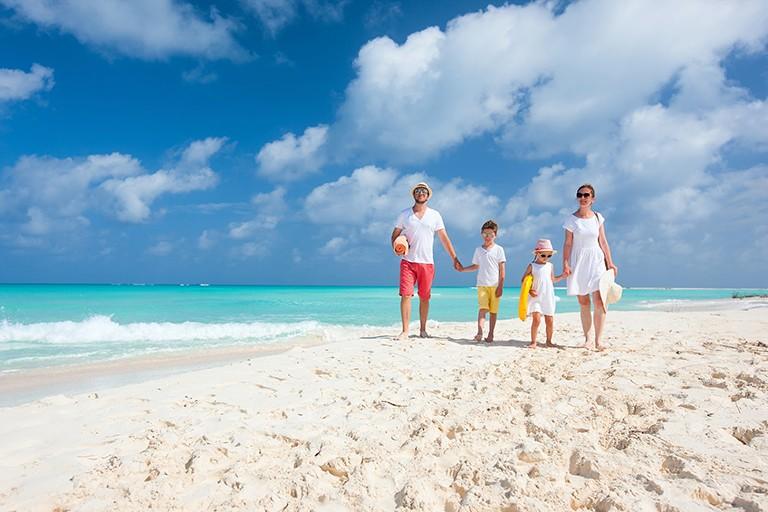 Tre ø-paradis for hele familien