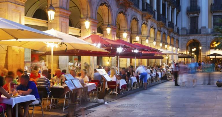Barcelona restaurang