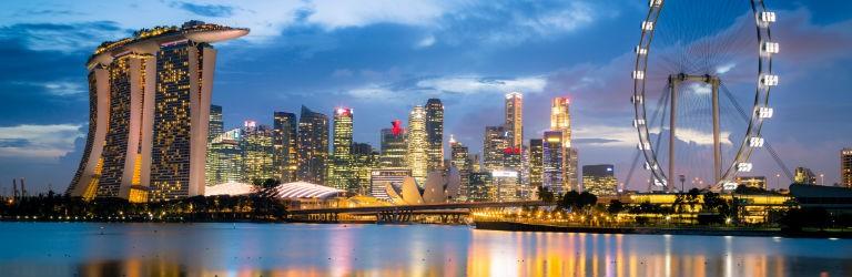 Billigaste resorna till Singapore från hela Sverige