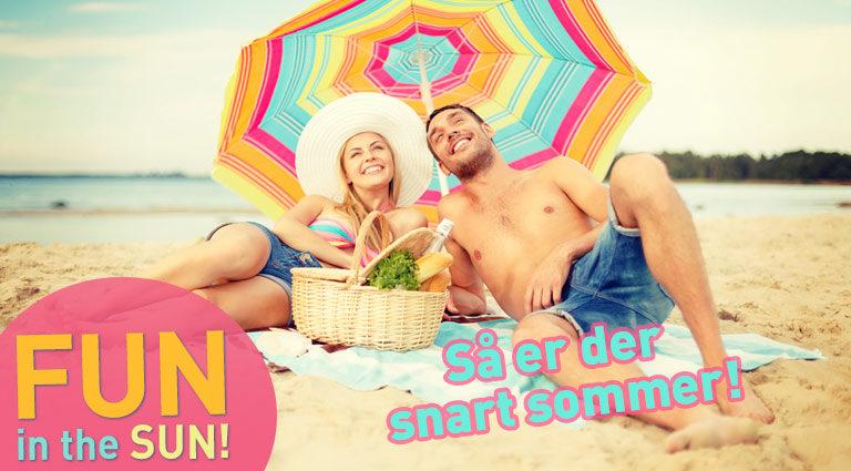 Fun in the sun - de billigste rejser lige nu!