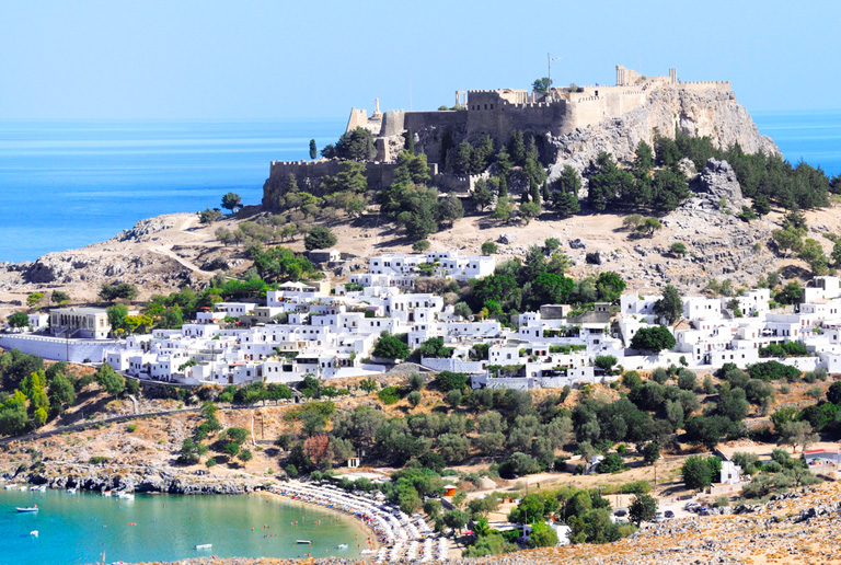 Illustration of Lindos - number 1 of 8