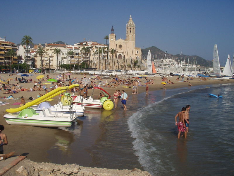 Illustration of Sitges - number 1 of 5