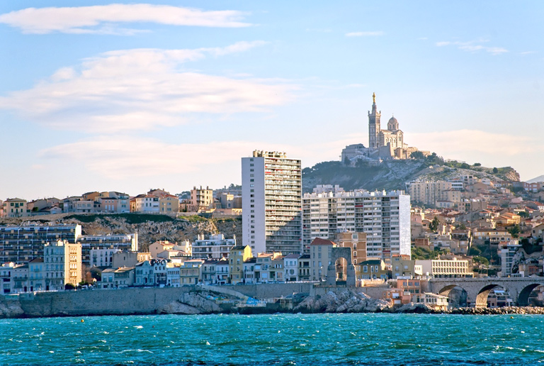 Illustration of Marseille - number 1 of 8