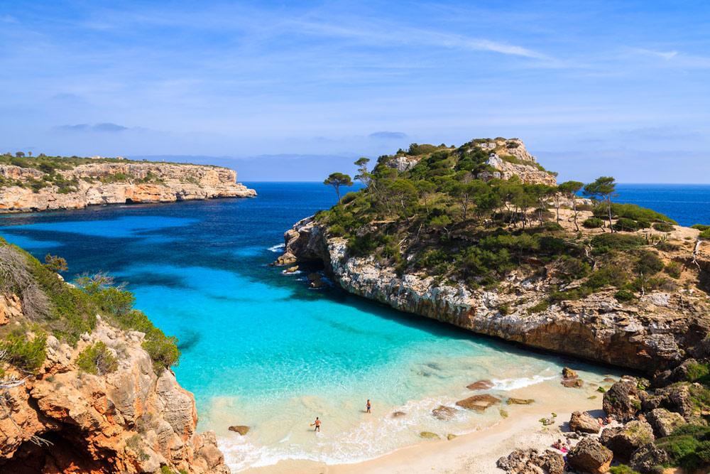 Herlige strender på Mallorca