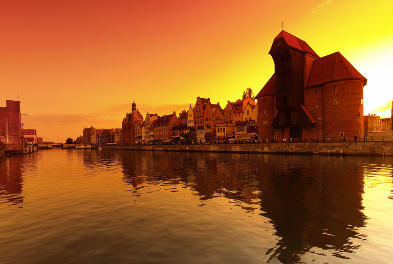 Illustration of Gdansk - number 1 of 8