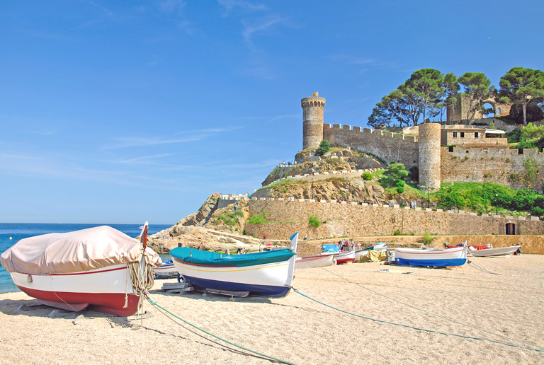 Illustration of Tossa de Mar - number 1 of 8