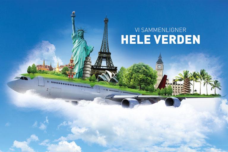 Rabatt på flybilletter - utvalgte reisemål