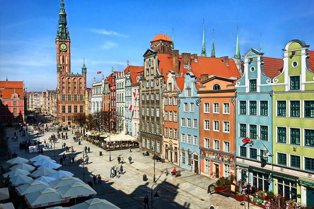 Illustration of Gdansk - number 1 of 6
