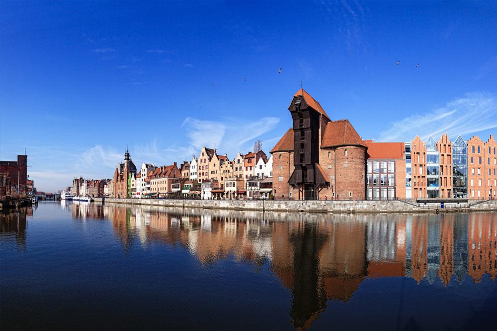 gdansk seaside waterfront