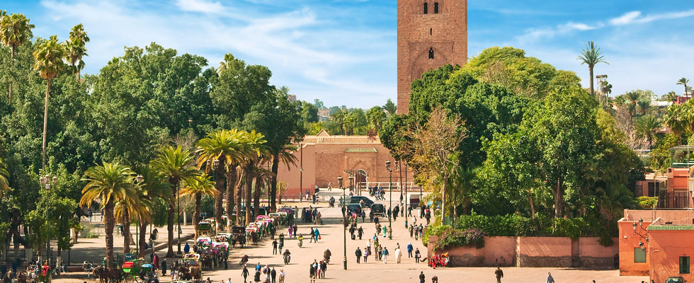Illustration of Marrakech - number 1 of 5