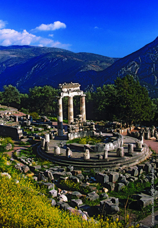 Photo: GNTO/C.Moustafelou-Central Greece Delphi Oracle