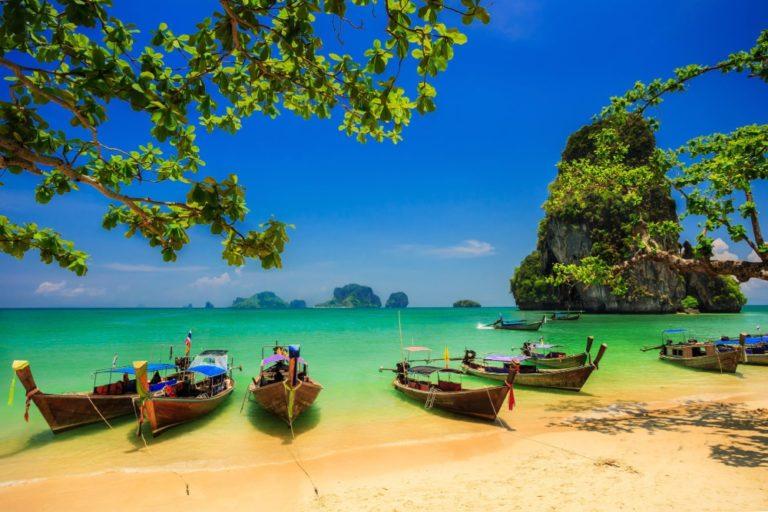 Krabi - øhopping i Thailand