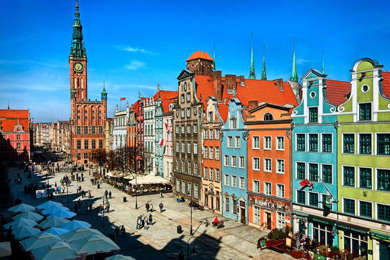 Utforsk Gdańsk nu - res senare