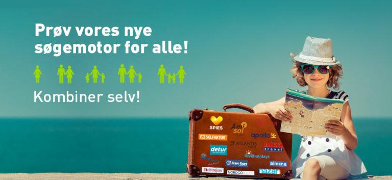 Nyhed! Reisevalg for alle