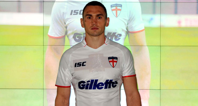 39fd4d03459 International sportswear brand ISC Sport (ISC) launched the revolutionary  new England Rugby League World Cup Jersey today (October 1), which the  England ...