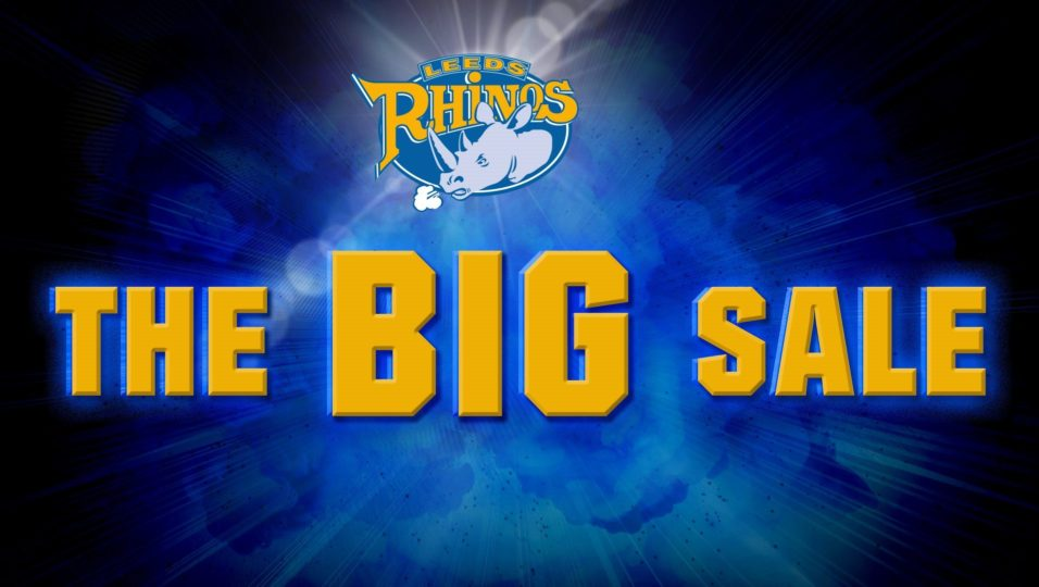 Memorial Day Car Sales >> The Big Sale is on now in the club store | Leeds Rhinos