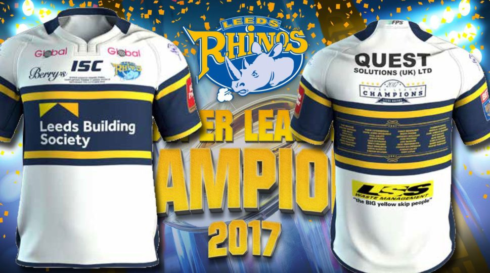 7ad9898f Thank you to all those supporters who have ordered a 2017 Leeds Rhinos  limited edition Champion shirt. Originally we hoped to take delivery of the  item this ...
