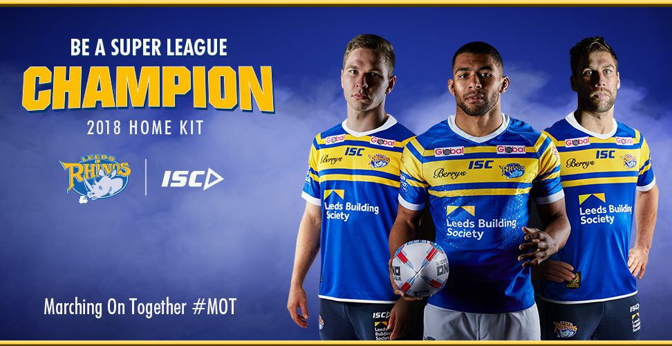 148341f33cc Leeds Rhinos have revealed their new home kit of 2018 with a classic look  to celebrate the 50th anniversary of the 1968 Challenge Cup Final.