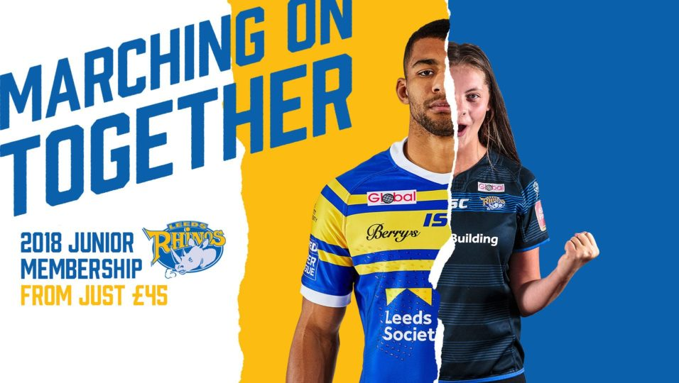 c942181ce It is not too late to your little Rhino a junior membership for Christmas  from just £45 for all Leeds Rhinos home and away games next season.