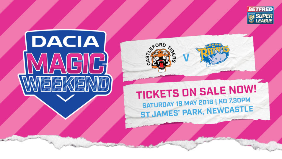 Additional train service for Dacia Magic Weekend | Leeds Rhinos
