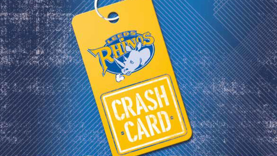 2019 Crash Card