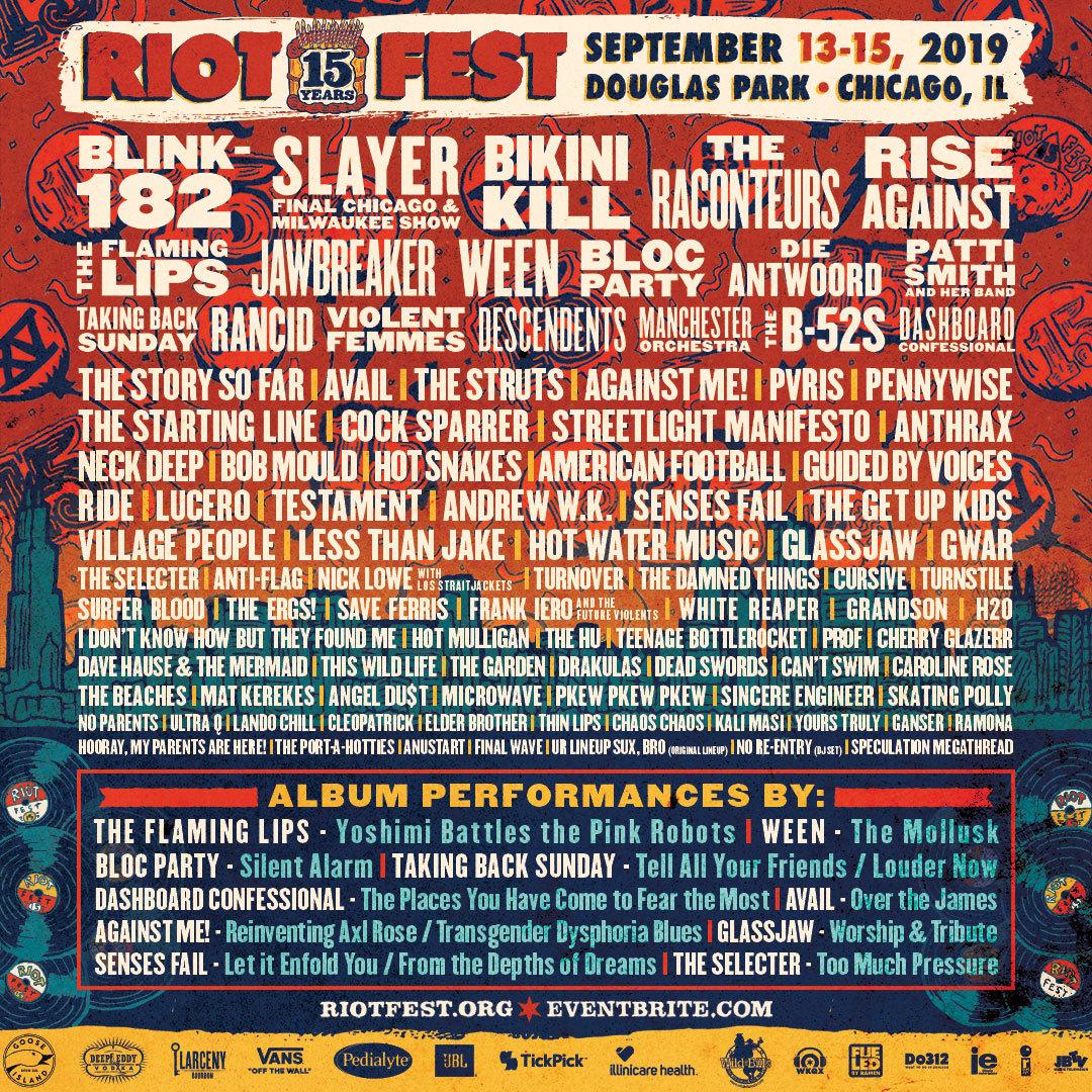 Riot Fest 19 Sq