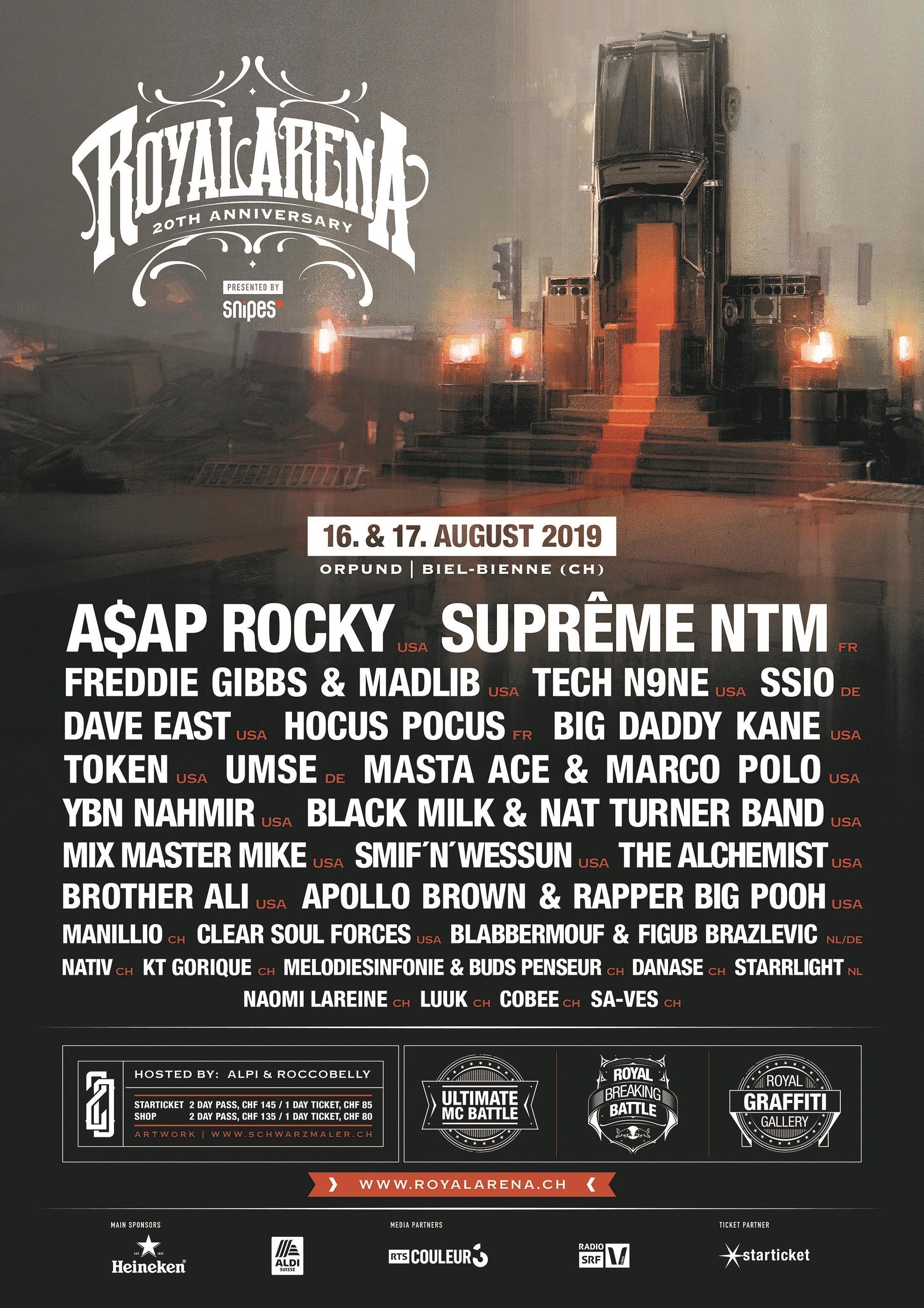 Royal Arena Festival2019