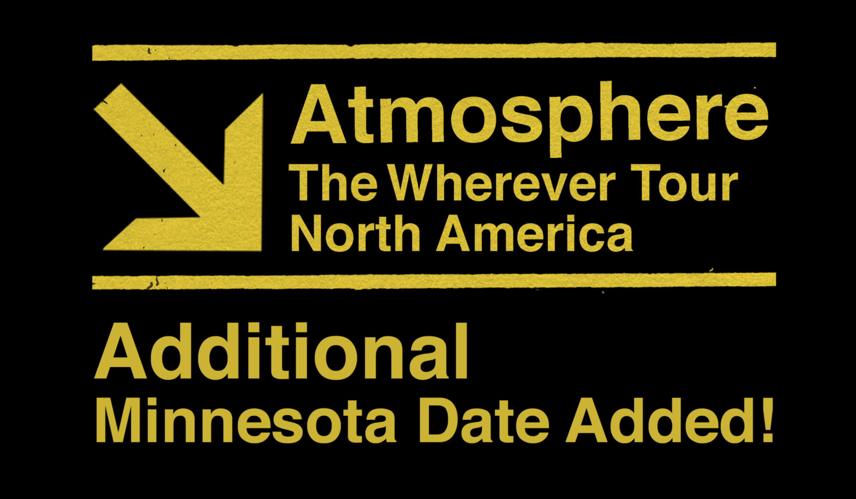 Wherever Tour Additional Mn Date