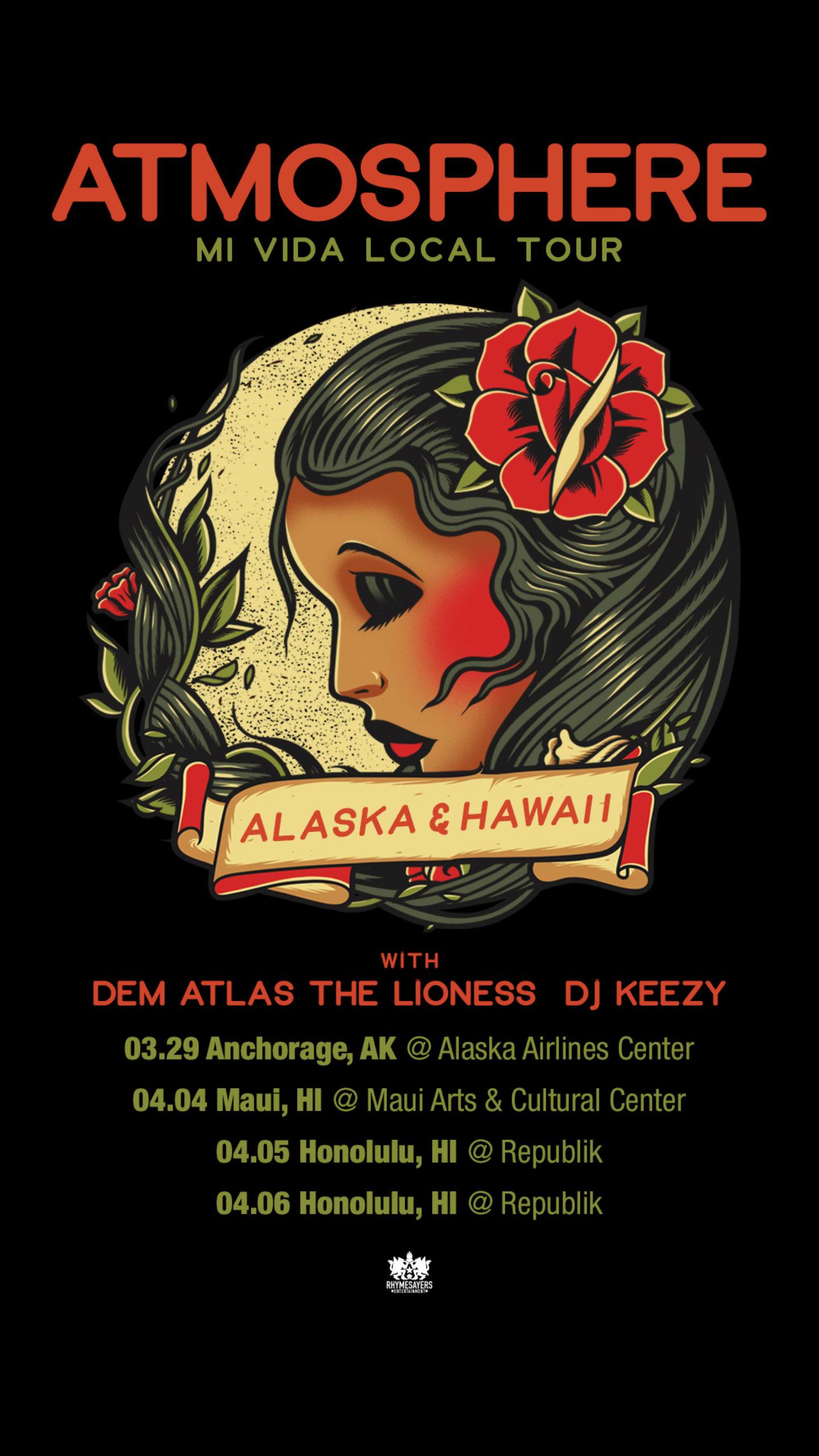 Atmosphere Alaska Hawaii Story Support