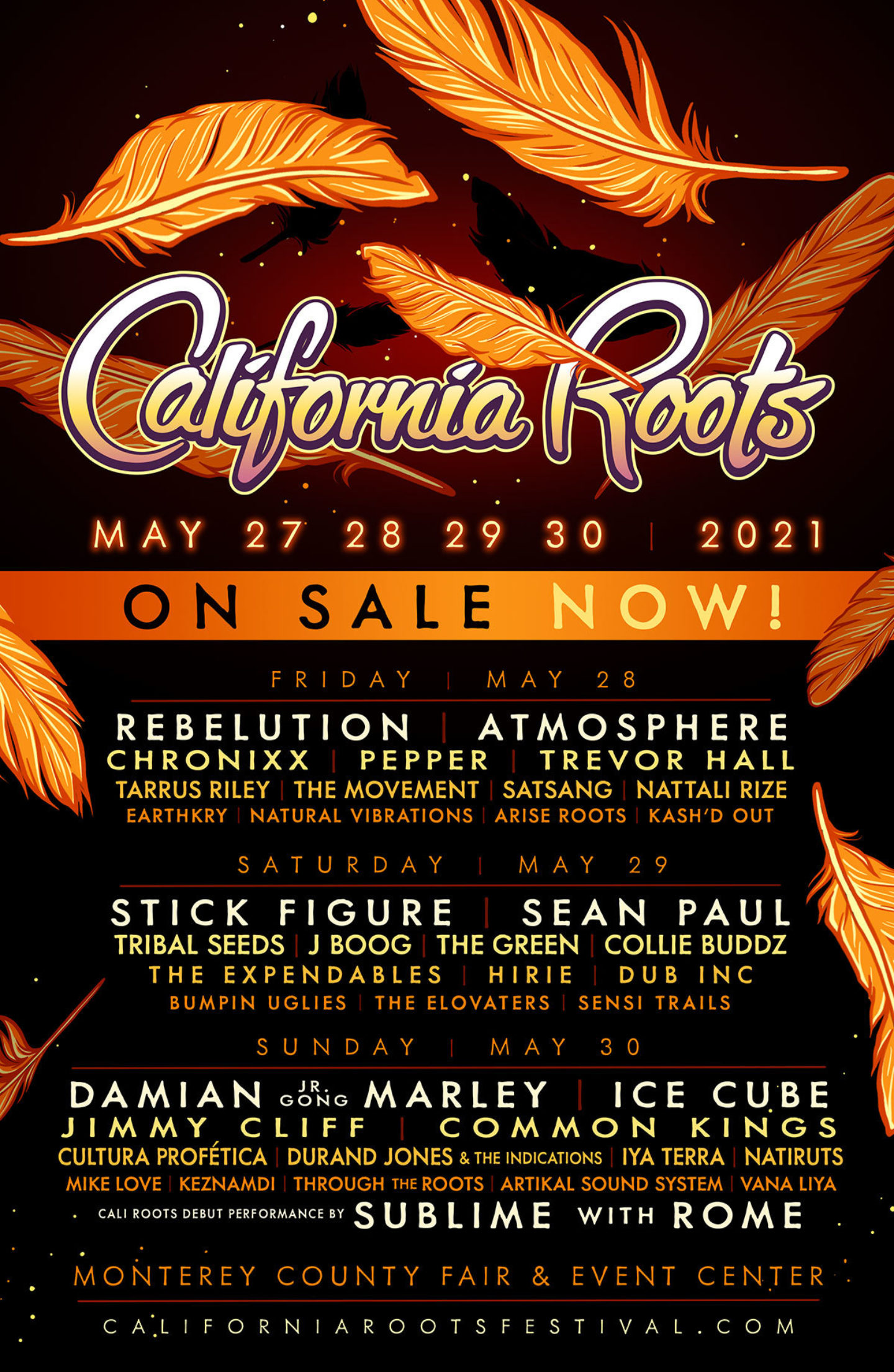 Ca Roots 2021 First Announce On Sale 1200Px Web Poster