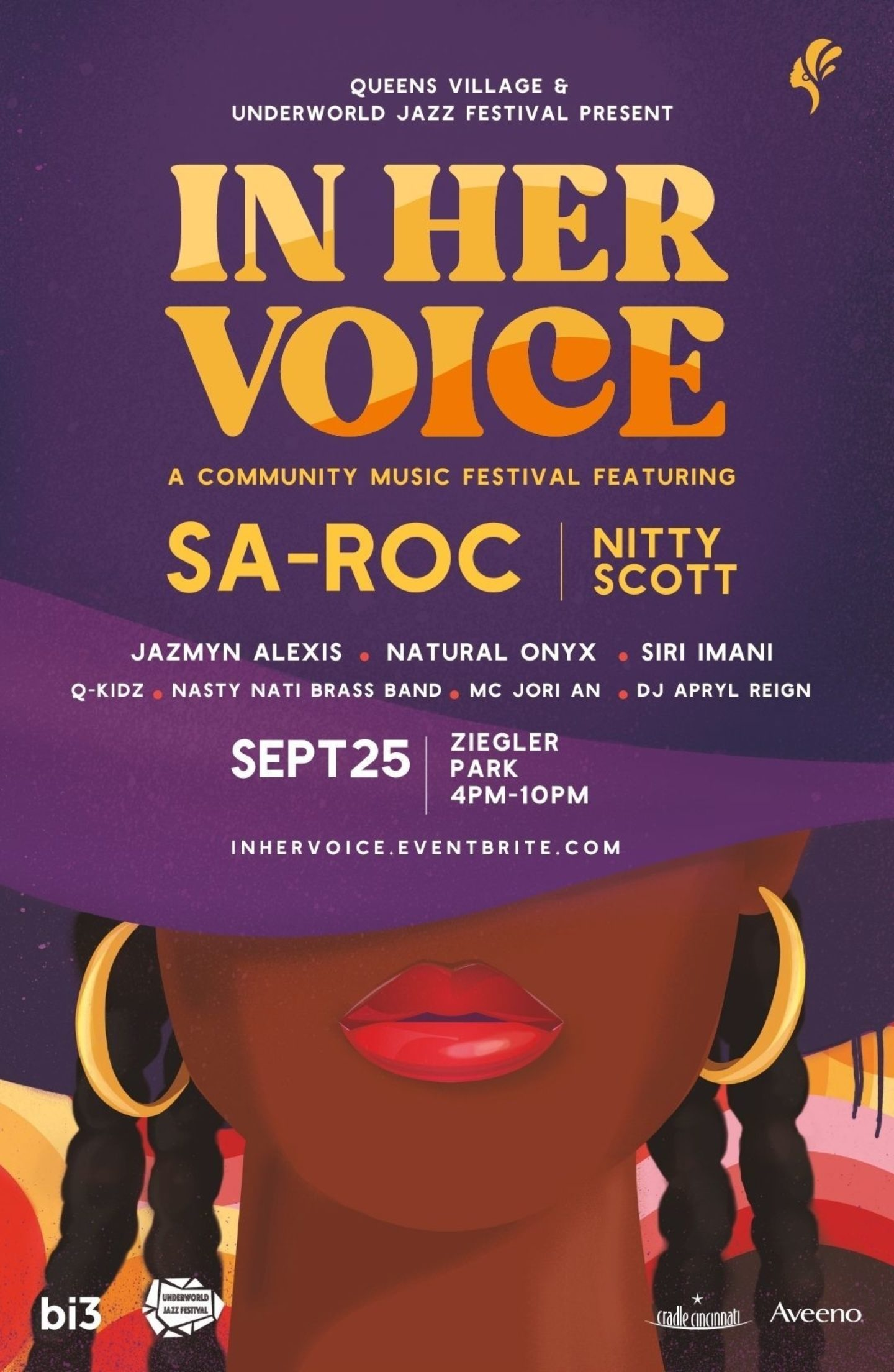 In Her Voice Poster