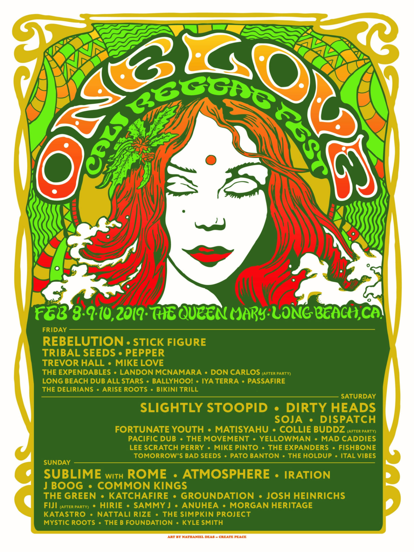 One Love Poster 11 14 18 330Pm