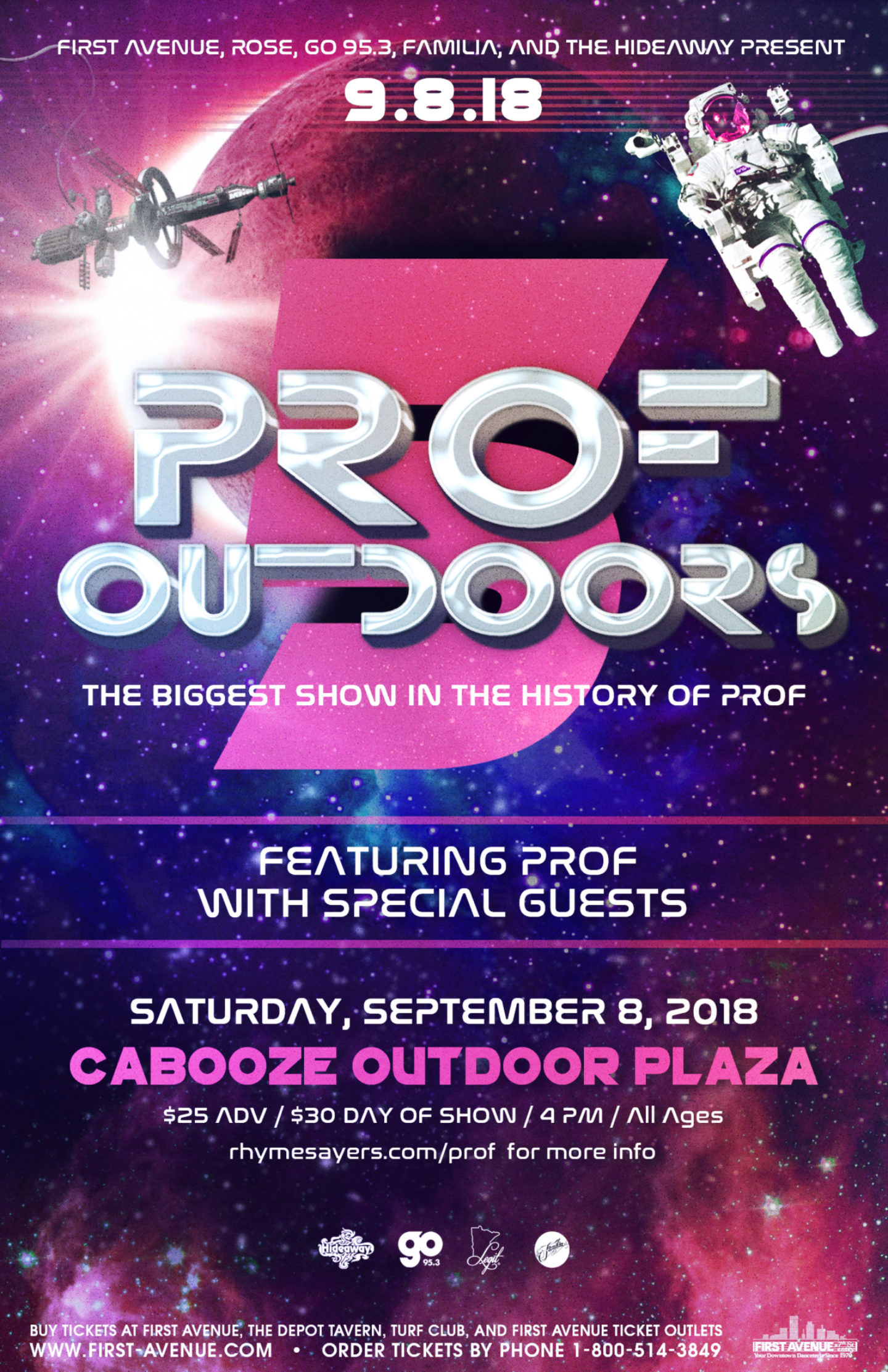 Prof Outdoors5 With Special Guests 11X17
